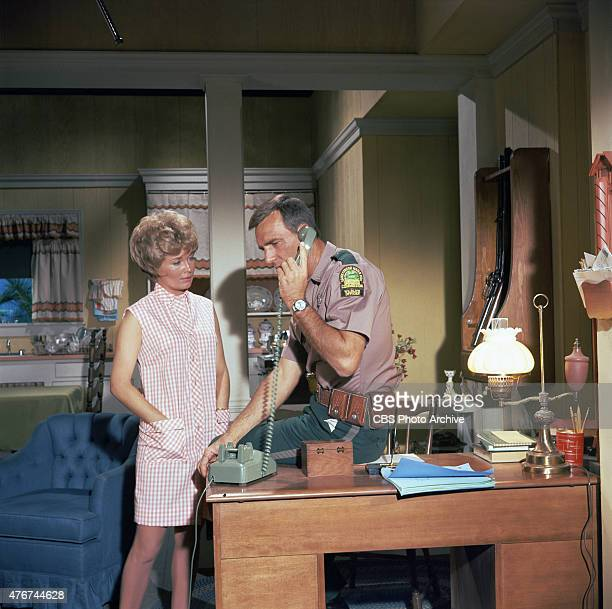 BEN Beth Brickell as Ellen Wedloe and Dennis Weaver as Tom Wedloe Image dated 1968