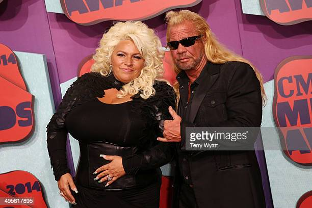 Beth Chapman and Duane Chapman attend the 2014 CMT Music awards at the Bridgestone Arena on June 4 2014 in Nashville Tennessee