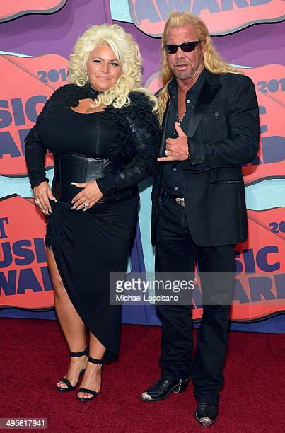 Beth Chapman and Duane Chapman attend the 2014 CMT Music awards at the Bridgestone Arena on June 4, 2014 in Nashville, Tennessee.