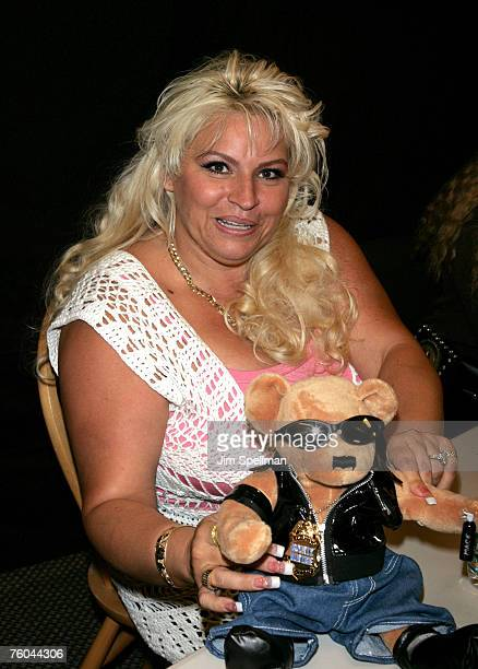 """Beth Chapman at the book signing of """"You Can Run, But You Can't Hide"""" at Bookends on August 9, 2007 in Ridgewood, New Jersey."""
