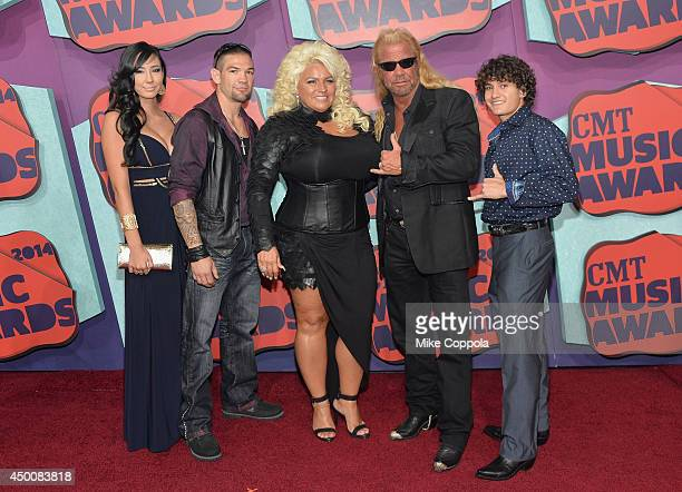 """Beth Chapman, Duane """"Dog"""" Chapman, and guests attend the 2014 CMT Music awards at the Bridgestone Arena on June 4, 2014 in Nashville, Tennessee."""