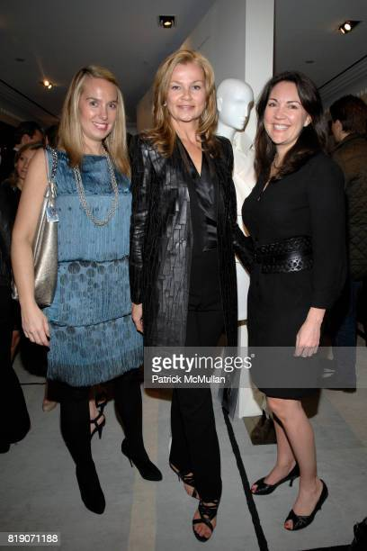 Beth Coleman Melissa Beste and Betsy Rodgers attend BERGDORF GOODMAN Celebrates 30 Seasons of Steven Klein with AKRIS at BERGDORF GOODMAN on March 18...