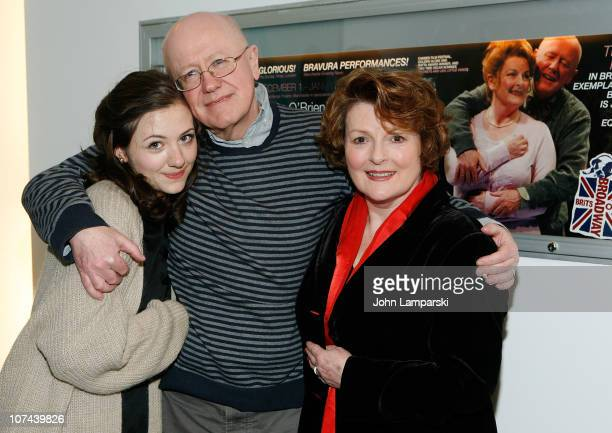Beth Cooke Niall Buggy and Brenda Blethyn attend the opening night of Haunted at 59E59 Theaters on December 8 2010 in New York City