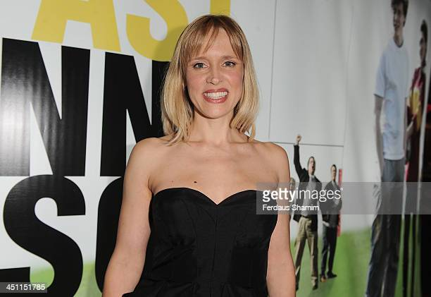 Beth Cordingley attends the world premiere of 'Breakfast With Jonny Wilkinson' at Empire Leicester Square on November 21 2013 in London England