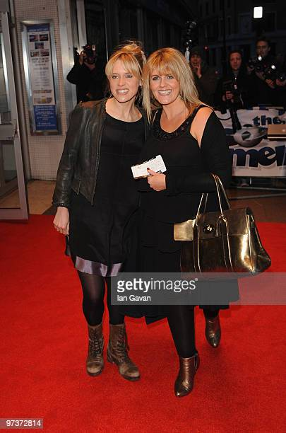 Beth Cordingly and Sally Lindsay attend the UK premiere of 'The Shouting Men' at Odeon West End on March 2 2010 in London England
