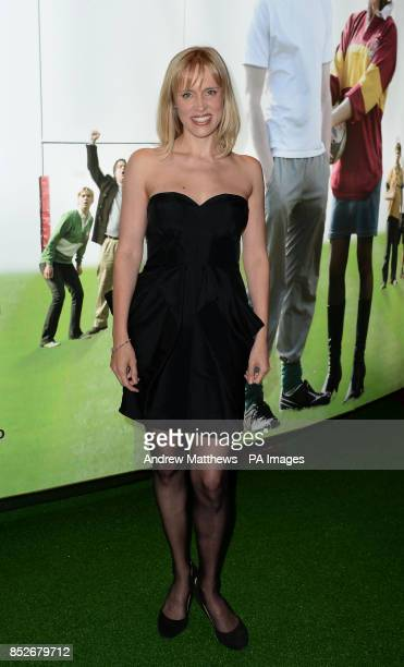 Beth Cordingly arrives for the World Premiere of Breakfast With Jonny Wilkinson at the Empire Leicester Square London