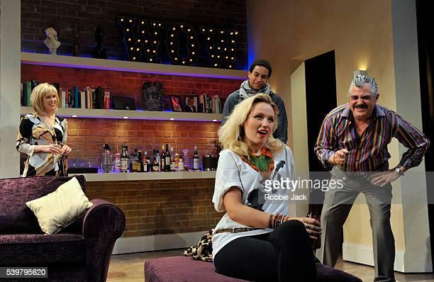Beth Cordingly as Louisa John MacMillan as Castro Emily Berrington as Effie and Darrell D'Silva as Michael in Mathew Dunster's Children's Children...