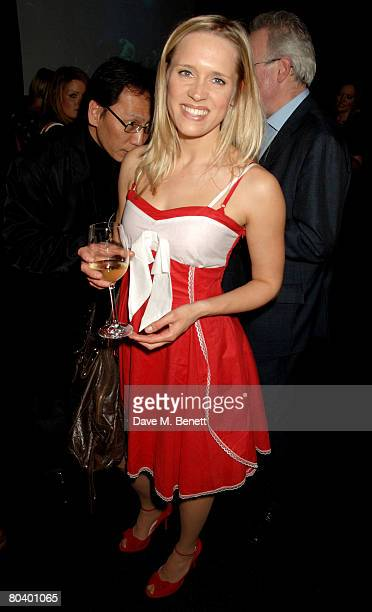 Beth Cordingly attends the after party following the first night of Into The Hoods at Tamarai on March 27 2008 in London England