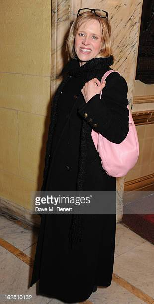 Beth Cordingly attends the Macbeth after party at One Whitehall Place on February 22 2013 in London England