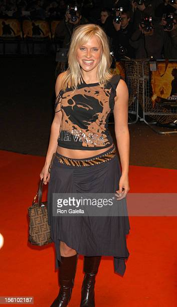 Beth Cordingly during 'National Treasure' London Premiere at Odeon West End in London Great Britain