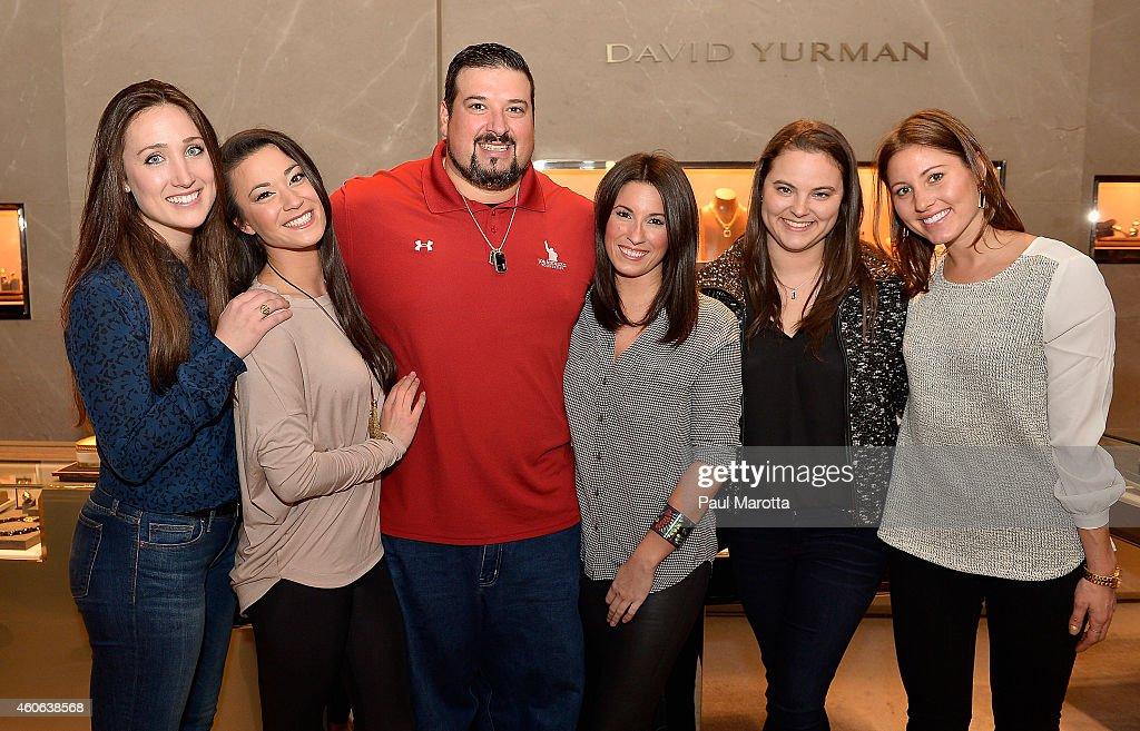 David Yurman With Jen And Joe Andruzzi Host On In-Store Event To Benefit The Joe Andruzzi Foundation In Boston, Massachusetts