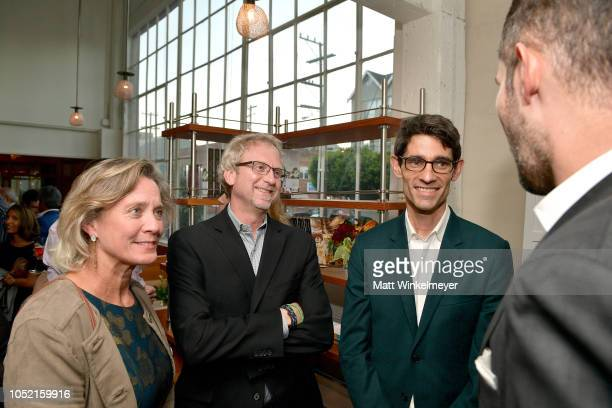 Beth Daugherty Paul Daugherty and Nicholas Thompson attend VIP Dinner For WIRED's 25th Anniversary Hosted By Nicholas Thompson And Anna Wintour at...