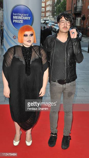 Beth Ditto and The Gossip attends the 2009 Barclaycard Mercury Prize at The Grosvenor House Hotel on September 8 2009 in London England