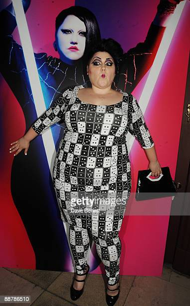 Beth Ditto at the Beth Ditto For Evans Launch Party Hosted By Sir Philip Green at Sketch on July 1 2009 in London England