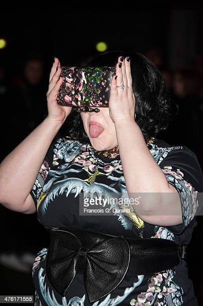 Beth Ditto attends the Givenchy show as part of the Paris Fashion Week Womenswear Fall/Winter 20142015 on March 2 2014 in Paris France