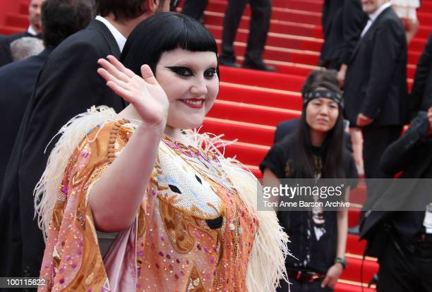 Beth Ditto of Gossip attends the 'Outside the Law' Premiere at the Palais des Festivals during the 63rd Annual International Cannes Film Festival on...