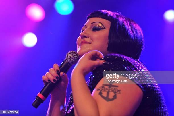 Beth Ditto of Gossip performs at X-Tra on December 2, 2010 in Zurich, Switzerland.