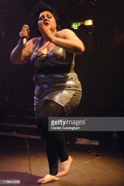 Beth Ditto of the Gossip during The Gossip in Concert at Koko in London - November 3, 2006 at Koko in London, Great Britain.