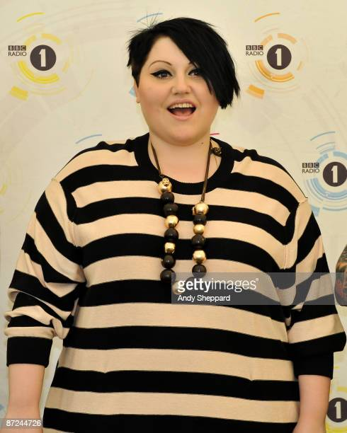 Beth Ditto of the Gossip performs on stage on Day 2 of BBC Radio 1's Big Weekend at Lydiard Park on May 10 2009 in Swindon England