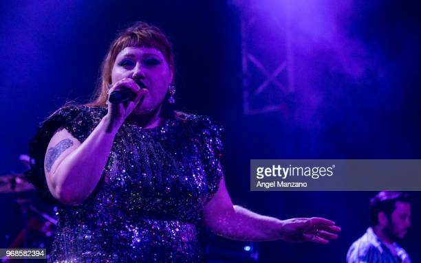 Beth Ditto performs in concert at Joy Eslava on June 6 2018 in Madrid Spain