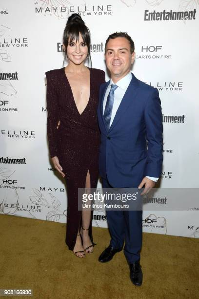 Beth Dover and Joe Lo Truglio attend Entertainment Weekly's Screen Actors Guild Award Nominees Celebration sponsored by Maybelline New York at...