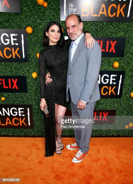 Beth Dover and Nick Sandow attend the 'Orange Is The New Black' Season 5 Celebration at Catch on June 9 2017 in New York City