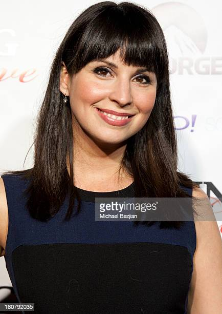 """Beth Dover attends the """"Burning Love"""" season 2 premiere at Paramount Theater on the Paramount Studios lot on February 5, 2013 in Hollywood,..."""
