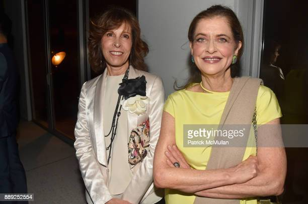 Beth Dozoretz and Debra Black attend the Galerie Gmurzynska Dinner in Honor of Jean Pigozzi at the Penthouse at the Faena Hotel Miami Beach on...