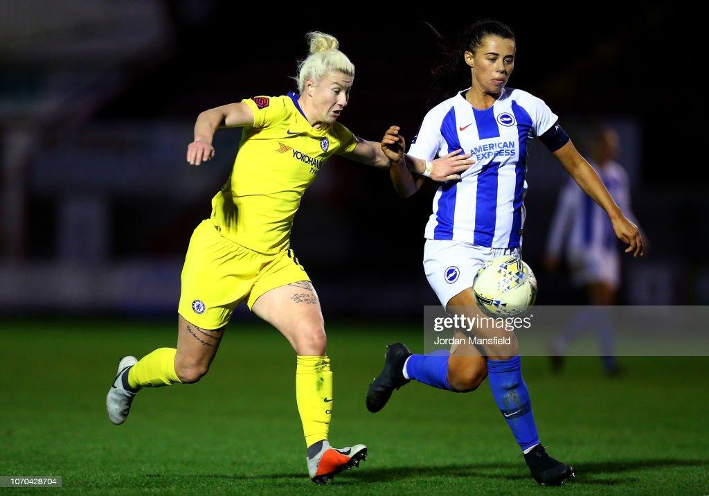 Brighton and Hove Albion Women v Chelsea Women - FA WSL : News Photo