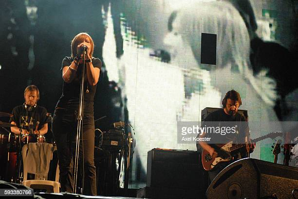 Beth Gibbons and band members of Portishead perform at Coachella Valley Music and Arts Festival in Indio.