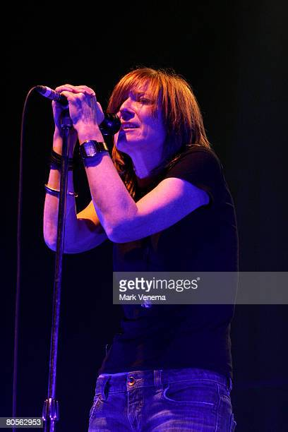 Beth Gibbons of Portishead performs live at the Heineken Music Hall on April 7, 2008 in Amsterdam, The Netherlands.