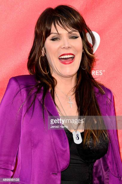 Beth Hart arrives at the 2014 MusiCares MAP Fund Benefit Concert at Club Nokia on May 12 2014 in Los Angeles California
