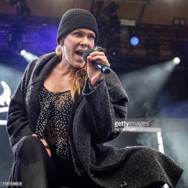 Beth Hart on stage at OverOslo on June 21, 2019 in Oslo, Norway.