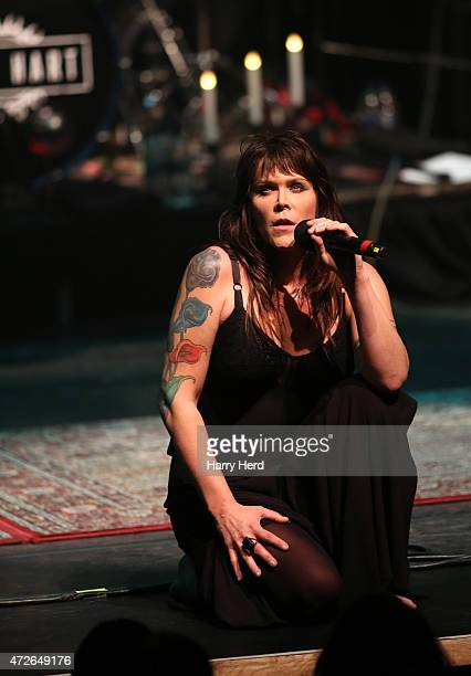 Beth Hart performs at Barbican Centre on May 8 2015 in London England
