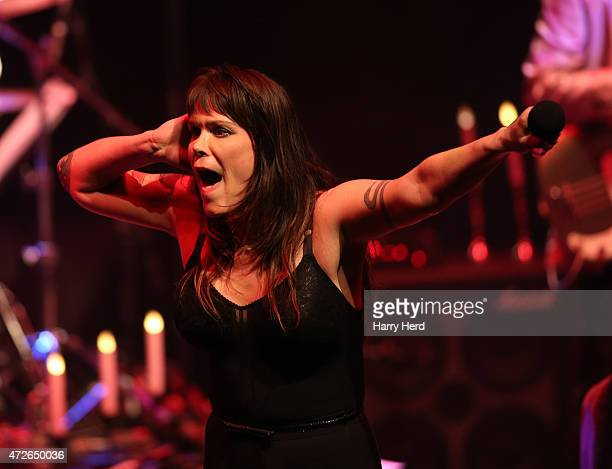 Beth Hart performs at Barbican Centre on May 8, 2015 in London, England.