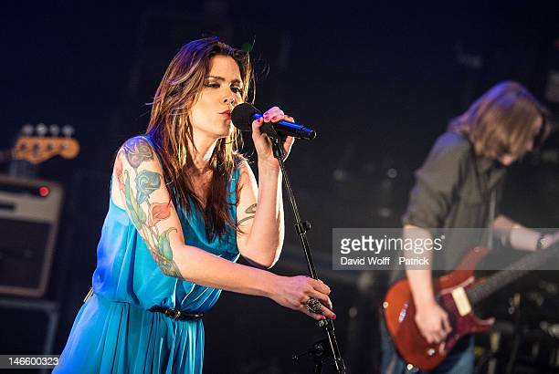 Beth Hart performs at La Cigale on June 20 2012 in Paris France