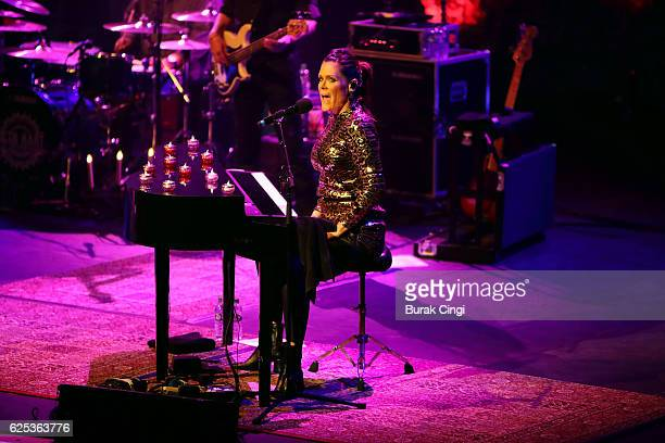 Beth Hart performs at the Royal Festival Hall on November 23 2016 in London England