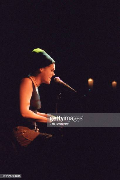Beth Hart performs at the Troubadour in Los Angeles, California on October 5, 1997.