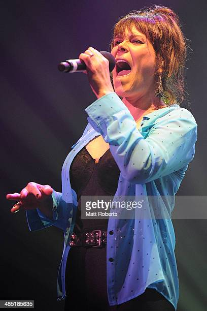 Beth Hart performs live for fans at the 2014 Byron Bay Bluesfest on April 17 2014 in Byron Bay Australia