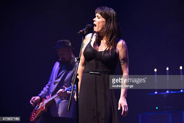Beth Hart performs on stage at Barbican Centre on May 8 2015 in London United Kingdom