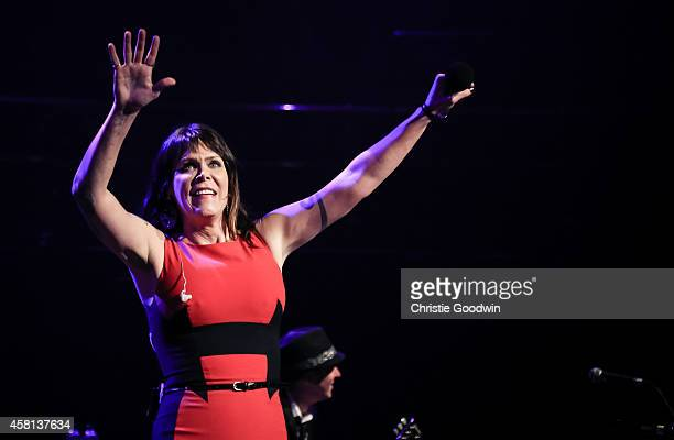 Beth Hart performs on stage at Royal Albert Hall on October 30 2014 in London United Kingdom