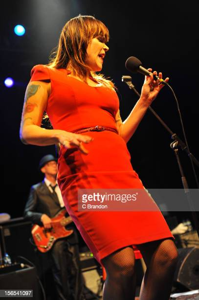 Beth Hart performs on stage at The Forum on November 16 2012 in London United Kingdom