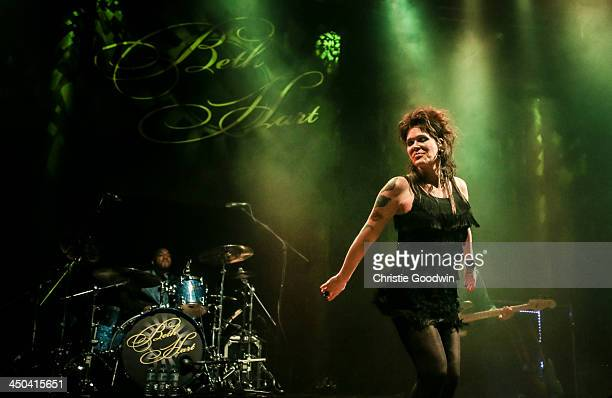 Beth Hart performs on stage at The Roundhouse on November 18 2013 in London United Kingdom