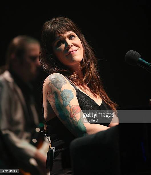Beth Hart,PJ Barth perform at Barbican Centre on May 8, 2015 in London, England.