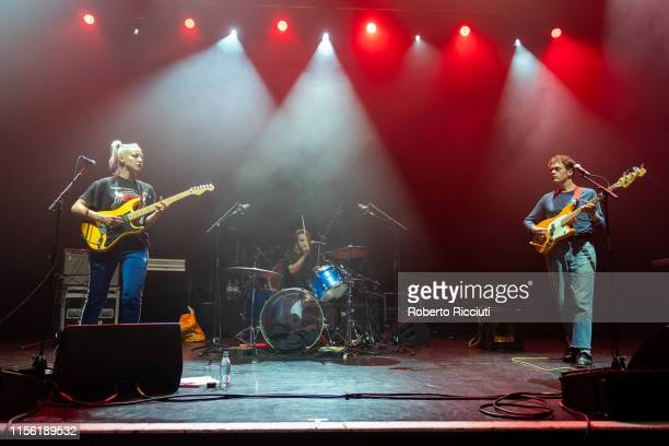 Beth Jeans Houghton , better known as Du Blonde, performs on stage at Alhambra Theatre on July 17, 2019 in Dunfermline, Scotland.