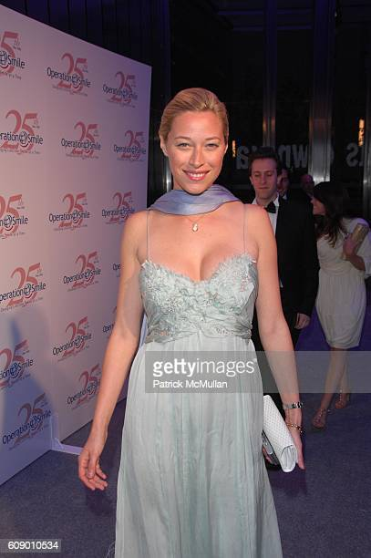 Beth Kaltman attends NAOMI CAMPBELL helps OPERATION SMILE celebrate 25 years of smiles at 7 World Trade Center NYC on May 11 2007 in New York City