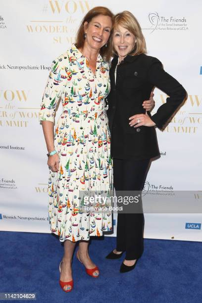 Beth Karlan and Lori Gordon attend the UCLA #WOW The Wonder Of Women Summit at UCLA Meyer and Renee Luskin Conference Center on April 11 2019 in Los...