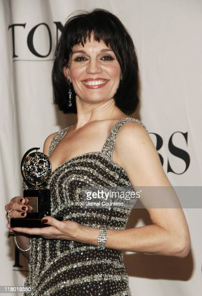 """Beth Leavel winner of Best Performance by a Featured Actress in a Musical for """"The Drowsy Chaperone"""""""