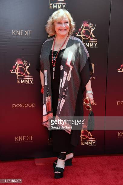 Beth Maitland attends the 46th annual Daytime Emmy Awards at Pasadena Civic Center on May 05 2019 in Pasadena California