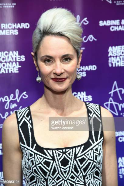 Beth Malone attends The American Associates of the National Theatre's Gala celebrating Tony Kushner's 'Angels in America' on March 11 2018 at the...